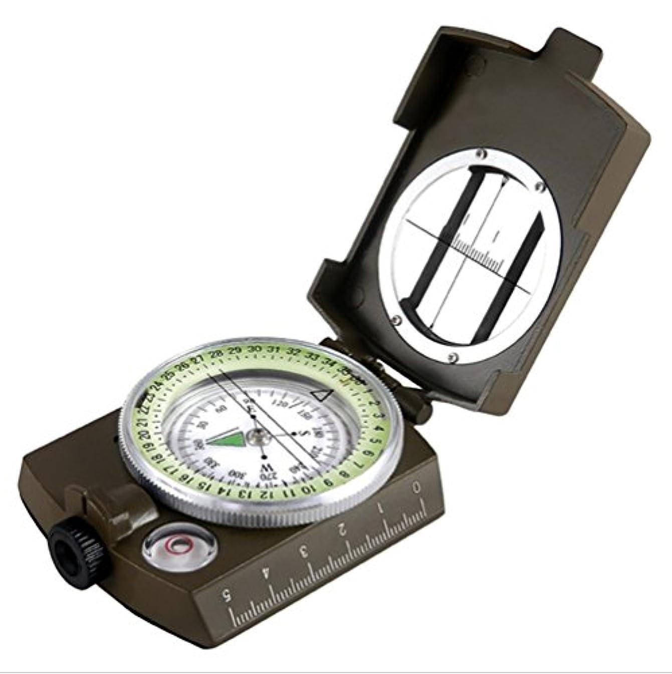 シャベル煩わしい評価可能mcolicsプロフェッショナル多機能Military LensaticコンパスSighting高精度防水アウトドア活動用