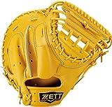 ZETT(ゼット) 硬式野球 プロステイタス キャッチャーミット トゥルーイエロー(5400) 右投げ用 BPROCM620