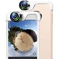 USAMS 360度カメラ 全天球カメラ スマホレンズ 写真撮影 日本語アプリ アイホン専用(iPhone7/8)