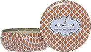 Aqua De Soi 3 Wick Candle, Apricot Sandalwood, 621g