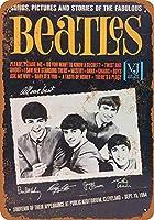 なまけ者雑貨屋 アメリカン 雑貨 ナンバープレート Beatles in Cleveland ヴィンテージ風 ライセンスプレート メタルプレート ブリキ 看板 アンティーク レトロ
