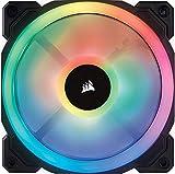 Corsair LL120 RGB Single Pack PCケースファン [120mm径 RGB搭載] FN1140 CO-9050071-WW 画像