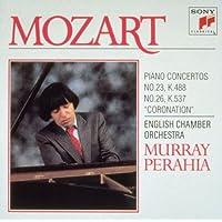 モーツァルト : ピアノ協奏曲第23番&26番「戴冠式」