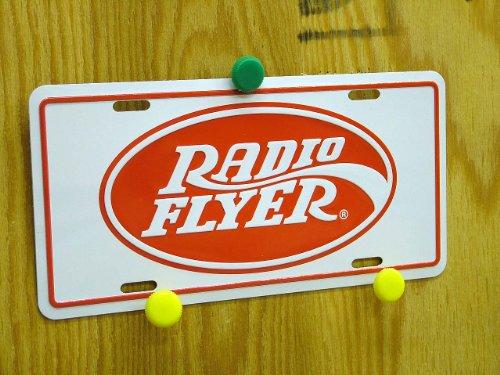 ラジオフライヤー RADIOFLYER バイクプレート 白