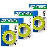 YONEX(ヨネックス) ウエットスーパーグリップ 3本入り 3個セット AC102 ((309)シトラスグリーン)