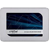 Crucial クルーシャル SSD 250GB MX500 SATA3 内蔵2.5インチ 7mm CT250MX500SSD1 9.5mmアダプター付 [並行輸入品]