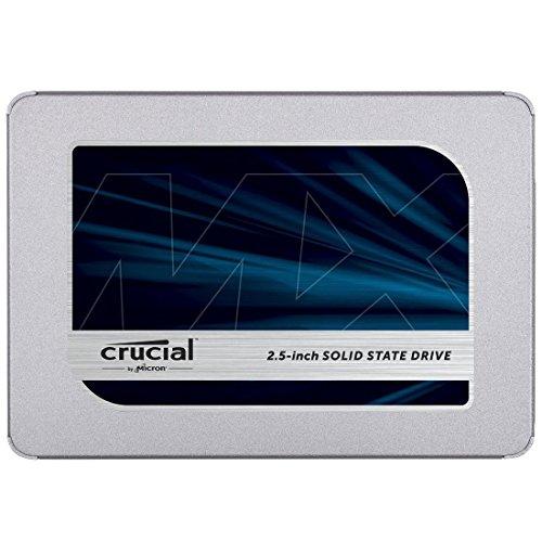 Crucial クルーシャル SSD 1TB MX500 SATA3 内蔵2.5インチ 7mm CT1000MX500SSD1 9.5mmアダプター付 [並行輸...