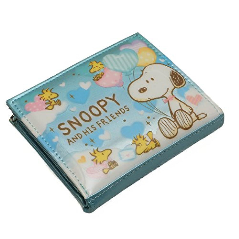 スヌーピー キャラクター 財布 カード入れ 収納 (B柄)