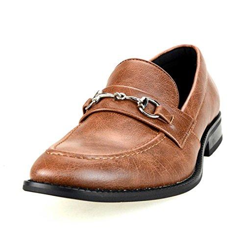 2dcbe306bf07cb ... ローファー スリッポン カジュアルシューズ メンズ Uチップ モカシン スエード短靴 【APT366-1】 ブラウンスムース 茶  46(28cm) 高級感のあるフェイクスエード素材 ...