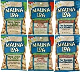 MAUNALOA(マウナロア) マカデミアナッツ Sサイズ【6袋】(塩味、ガーリック、ハニーロースト各32g×2袋)