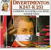 Mozart Divertimentos 3: In F K 247 & D K 251