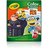Crayola Despicable Me Color & Sticker Book, Gift for Kids, Age 3, 4, 5, 6 Styles may vary
