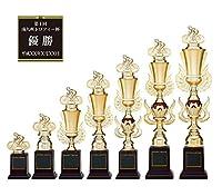 [レーザー彫刻名入れ] GOLD SHACHI 優勝トロフィー T8738 Dサイズ(B-1) 【女子ボウラー(ボウリング)】