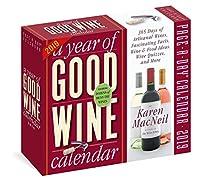 Year of Good Wine - 2019 デイリーデスクカレンダー