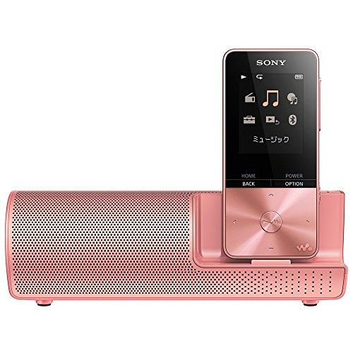ソニー SONY ウォークマン Sシリーズ 16GB NW-S315K : Bluetooth対応 最大52時間連続再生 イヤホン/スピーカー付属 2017年モデル ライトピンク NW-S315K PI