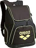 arena(アリーナ) プールバッグ リュック ARN-6429 ブラック×イエロー