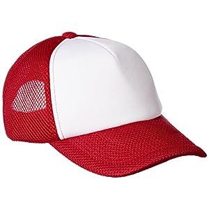 [プリントスター]帽子 ラッセル イベント キャップ 00708-RVC レッド×ホワイト FREE サイズ