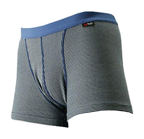SIDO(シドー) 包帯パンツ ノンヘムショートボクサー ネイビー M(76~84cm)