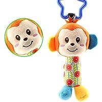 Keler Cute Monkey Baby Hanging Puppet Handbellsベビーカーおもちゃ