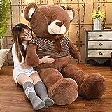 BEARS'HOMEぬいぐるみ  熊 クマ コストコ 巨大 テディベア 抱き枕 クリスマス 誕生日 プレゼント 可愛い インテリア 撮影道具 添い寝 (80cm)