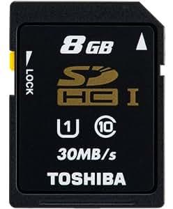 SDHC カード 東芝 8GB クラス10 UHS-I 30MB/s 並行輸入バルク品