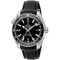 [オメガ]OMEGA 腕時計 Seamaster Planet Ocean ブラック文字盤 コーアクシャル自動巻き 600m防水
