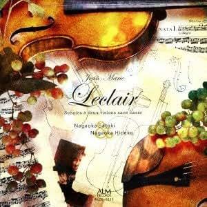 ルクレール 2つのヴァイオリンのためのソナタ集