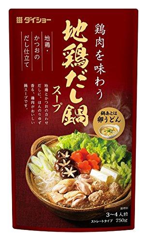 ダイショー 地鶏だし鍋スープ(750g)
