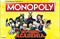 Monopoly My Hero Academia Board Game | Themed Monopoly Board Game | Custom Collectable Tokens | Bring Your Favorite My Hero Academia Show to Life in This Custom Monopoly Game [並行輸入品]