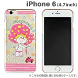iPhone6 ケース カバー 水森亜土 iPhone 6 / 4.7 インチ キャラクター クリアケース ハードケース / マドモアゼル
