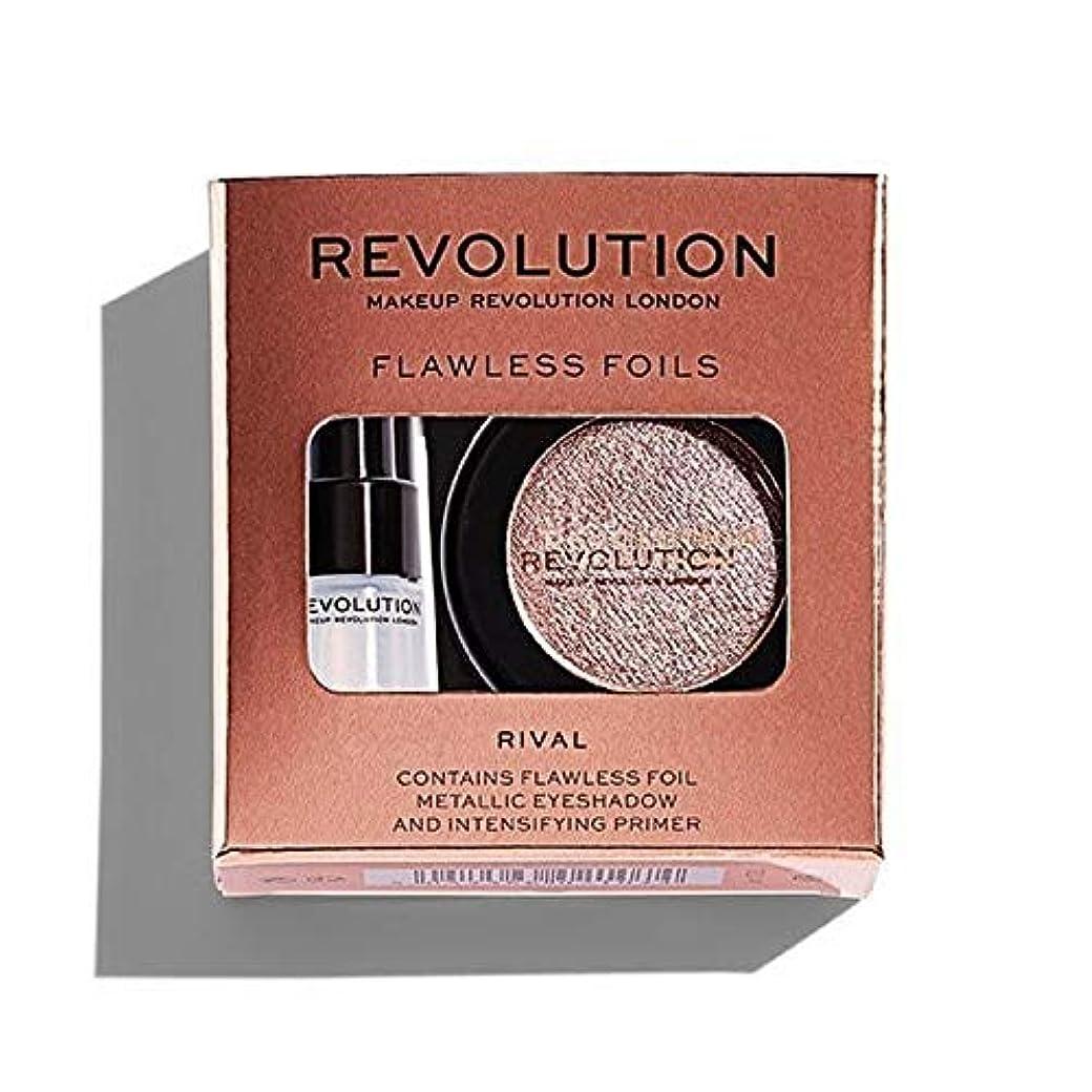 改善店主尊敬する[Revolution ] ライバル革命完璧な箔 - Revolution Flawless Foils Rival [並行輸入品]