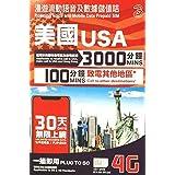 【お急ぎ便】【AT&T】ハワイ・アメリカ本土 プリペイドSIM 30日 データ容量8GB 大容量通話付き