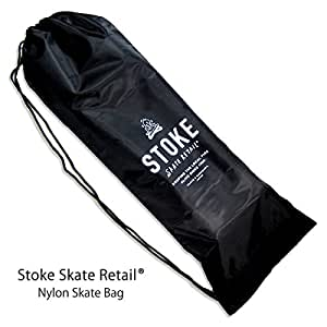 Stoke! Skateboard Bag 【 持ち運びに便利なナイロン製 スケボーバック 】