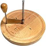 "Kesper Rotary Cheese Curler 8.27"" of Beech Wood, Brown"