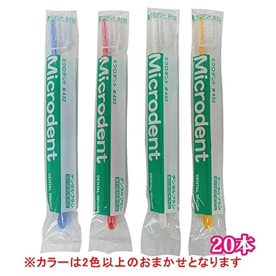 笑ノーブル拘束白水貿易 ミクロデント(Microdent) 20本 (#432)
