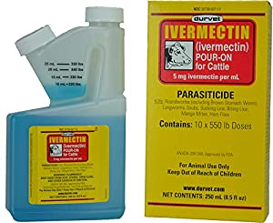 Durvet Ivermectin Ermectin Pour on for Cattle by Durvet