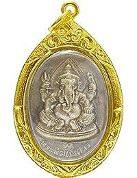 ラッキージュエリーギフトThe Lord GaneshガネーシャHindu Deity God成功Buddhaペンダント