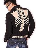 (バンソン) VANSON ボーン シングル ライダース ジャケット NVSZ-519 度詰天竺 XL