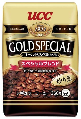 ゴールドSP スペシャルブレンド 豆 袋360g