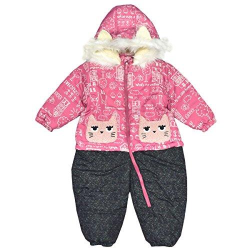 [해외]아스나로 (스키 복) UZUCHAT 점프 슈트 베이비 여자 발수 가공 안솜 후드가있는/Asunaro (ski wear) UZUCHAT jumpsuit baby girl water-repellent processing batting with hood