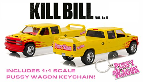 "1/18 Artisan Collection - Kill Bill: Vol.1 (2003) - 1997 Chevrolet C-2500 Crew Cab Silverado ""Pussy Wagon"""