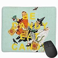 キャンディゲームマウスパッドマウスパッド滑り止めラバーマウスマット長方形マウスパッド用デスクラップトップ事務作業