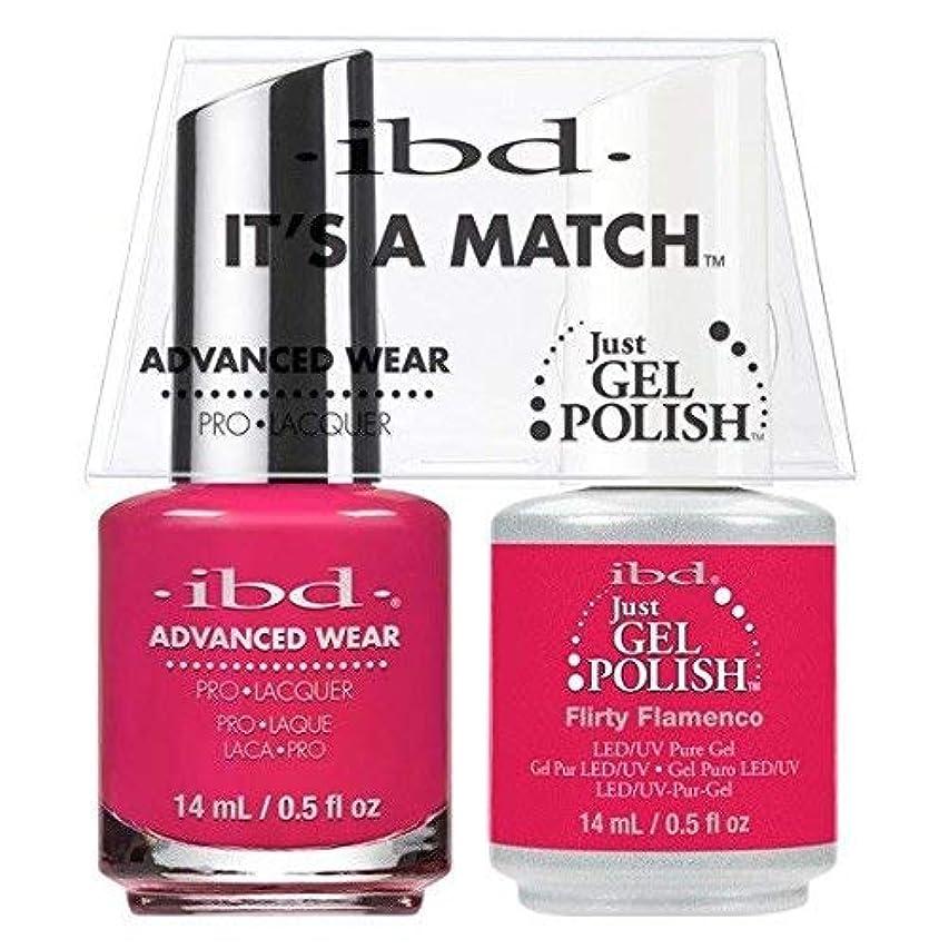 ibd - It's A Match -Duo Pack- Flirty Flamenco - 14 mL / 0.5 oz Each