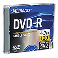 Memorex 4.7GB DVD - R / RW combo-pack6パック