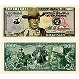 John Wayne Collectors Million Dollar Bills (5/$3.00) by American Art Classics