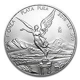 メキシコ リベルタード 2016年 1オンス 銀貨 31.1g シルバー コイン 純銀 インゴット カプセル クリアーケース付き