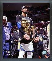 ケビンデュラントGolden State Warriors 2018Championship & MVPトロフィーフォト(サイズ: 12cm x 15cm) フレーム
