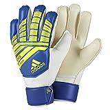 adidas(アディダス) サッカー ジュニア用 キーパーグローブ フットボールブルー/ボールドブルー/ソーラーイエロー 8 FME85
