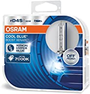 OSRAM 66440CBB-HCB XenArc Cool Blue Boost D4S, HID Headlamp, Hyper Blue Light, 42V, 35W, Off-Road Only, Duo Bo