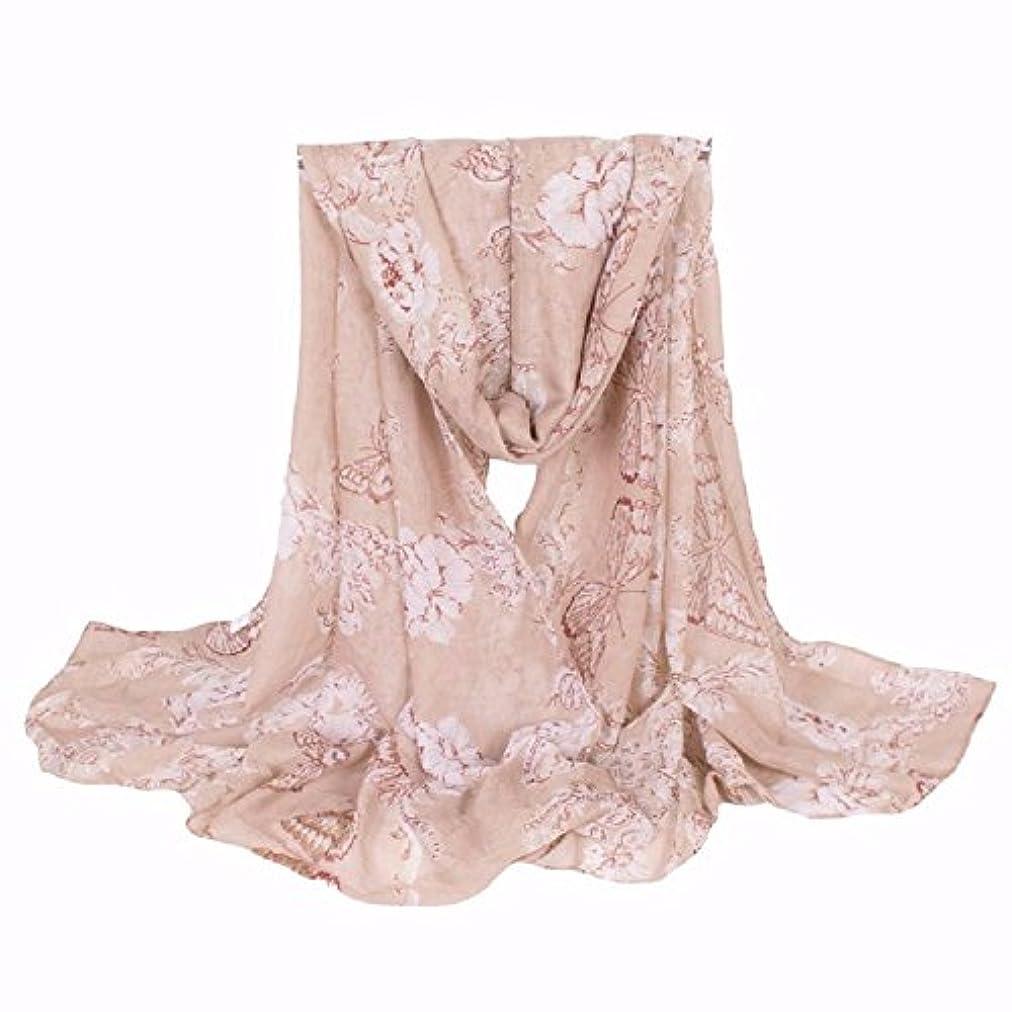 醜い引き付ける折180*90cmエレガントな花の蝶ロングスカーフ ファッション秋冬暖かい厚めのショールレディーススカーフ